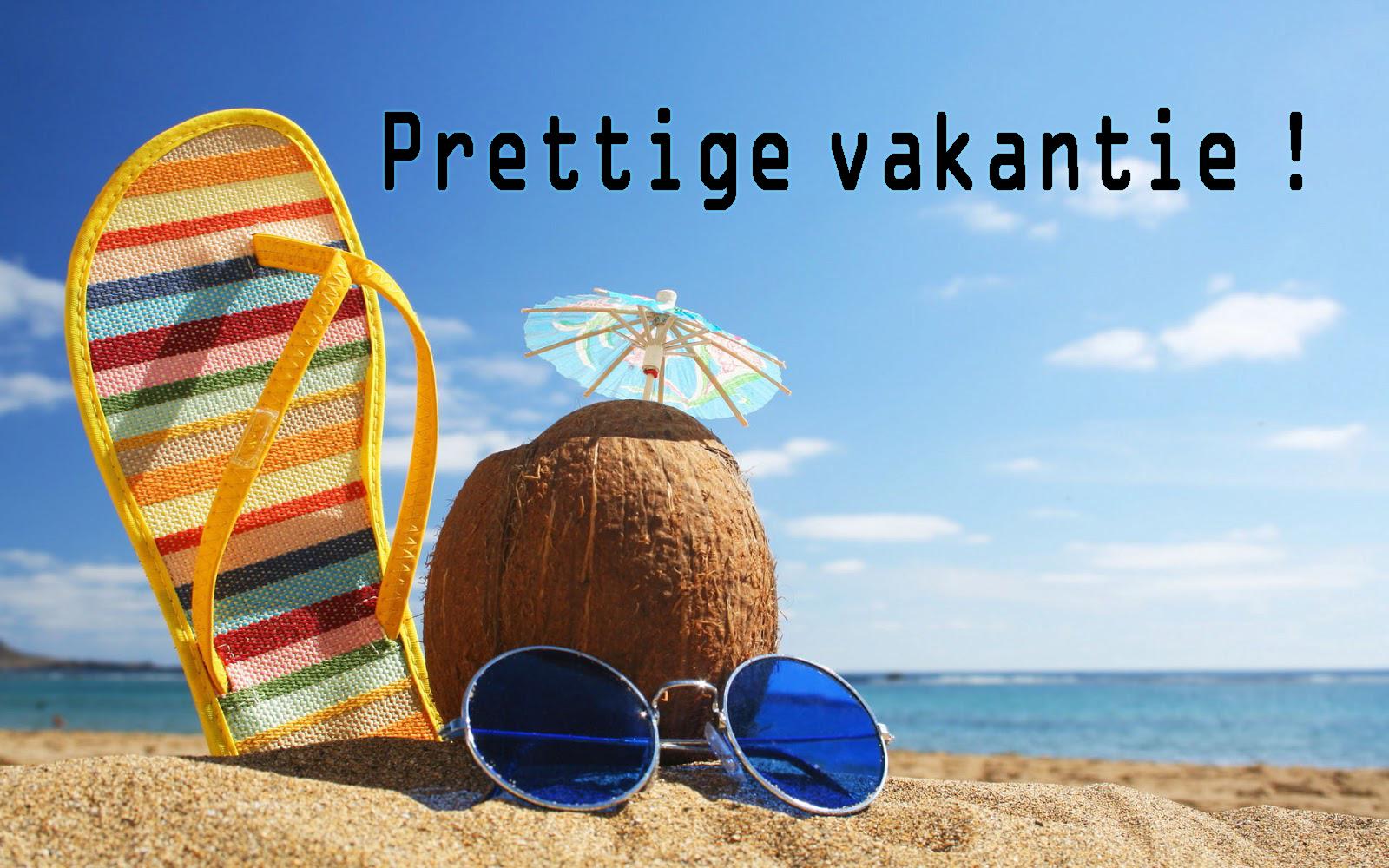 Prettige vakantie! :)